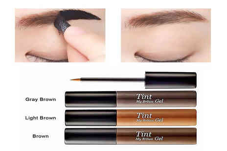 Alvis Fashion - Peel off eyebrow tint gel - Save 92%