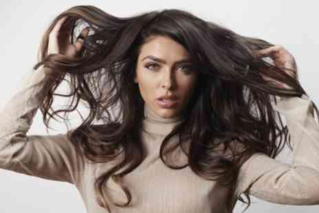 HD Hair and Beauty - Cut, Blow Dry and Conditioning Treatment with Optional Half Head Highlights - Save 57%
