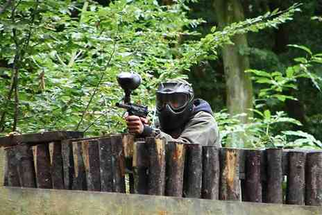 Extreme Mayhem - Full Day Paintballing for Five, Ten or 15 Players with 100 Paintballs for Each - Save 90%