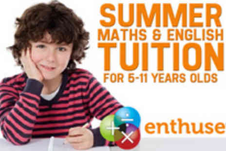 Enthuse Education - Invest in your childs future with a summer holiday tutoring programme - Save 80%