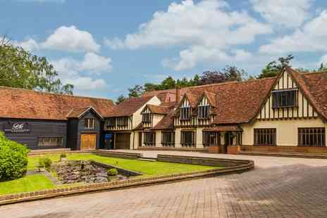 Great Hallingbury Manor - One or Two Nights Stay for Two with Breakfast and Three Course Dinner - Save 0%