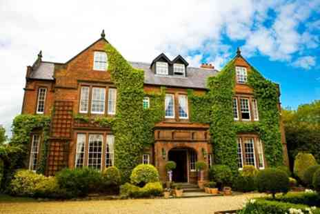 Nunsmere Hall Hotel - One Night Stay for Two with Breakfast, Prosecco and Option for Cream Tea or Dinner - Save 0%