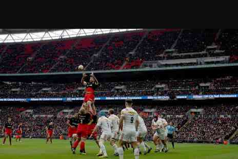 Saracens - Childs or adult ticket to see Saracens vs. Harlequins rugby on 24th March 2018 - Save 0%