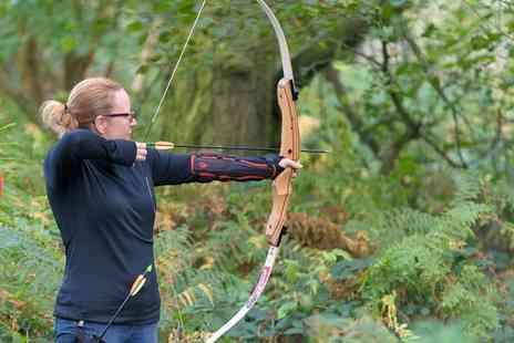Elsham Activity Centre - 90 Minute Target or Woodland Archery or Air Rifle Shooting for Up to Six - Save 50%