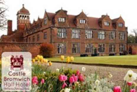 Castle Bromwich Hall Hotel - In Birmingham One Night Stay For Two With Dinner and Entrance to National Trust Gardens - Save 53%