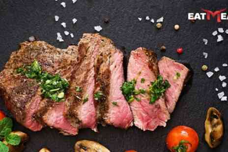 Eat Meat - Steak with Side and Drink for Two or Four - Save 41%