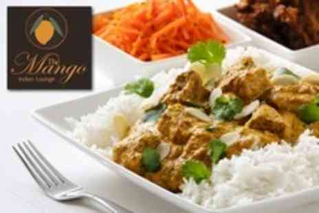 The Mango Indian Lounge - Indian Meal For Two With Sides and Wine - Save 58%