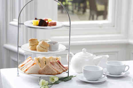 Burn Hall - Festive afternoon tea for two or include a glass of Prosecco or mulled wine - Save 50%