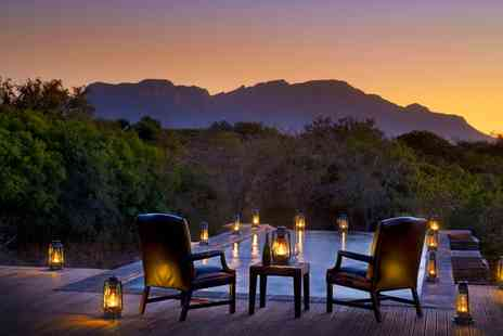 The Vuyani Safari Lodge - Five or Seven Night All Inclusive Stay with 2 Safaris a Day and Airport Transfers - Save 0%