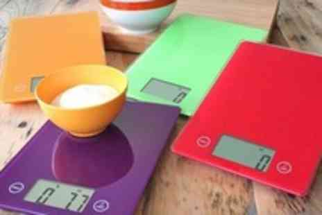 Beesbays - Digital Kitchen Scales in a Choice of Colours - Save 63%