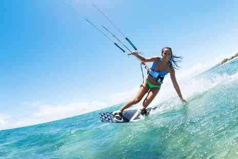 BEKS Kitesurfing - Three Hour Basic Kite Surfing Lesson for One, Two or Four - Save 50%