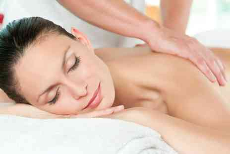 Back To Health - One hour deep tissue massage at a choice of two locations - Save 68%