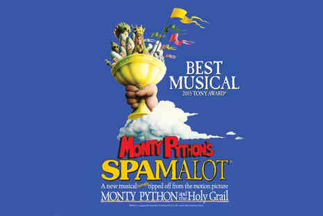 ATG Tickets - Ticket to see Monty Pythons Spamalot - Save 64%