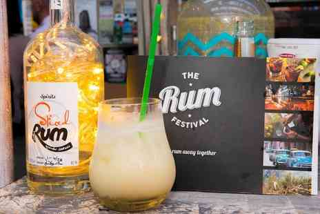 The Rum Festival - One general admission ticket to The Rum Festival with a cocktail on 1 To 2 December - Save 46%