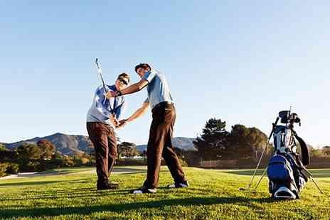 Croham Hurst Golf Club - One or Two Hour Pga Golf Lesson with 30 minute Practice - Save 0%