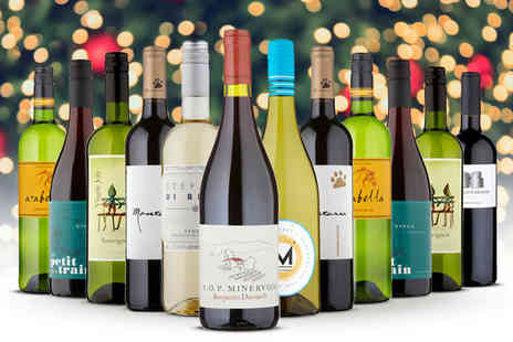 Naked Wines - Christmas Early Bird mixed case get 12 bottles - Save 59%