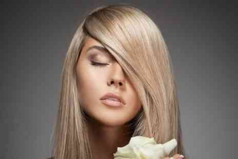 Claudias Hair and Beauty - Wash, Cut and Blow Dry with Optional Half Highlights or Full Head Colour - Save 58%