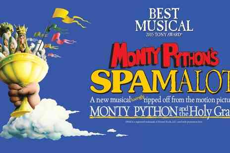 ATG Tickets - Spamalot Ticket on 21 to 25 November - Save 75%
