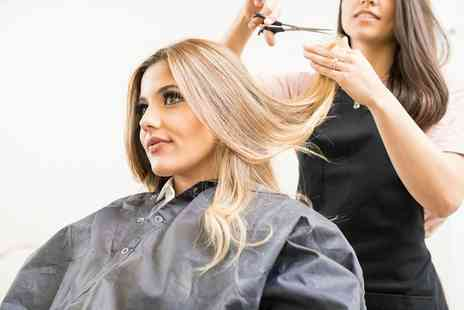 Divas Of London - Wash, Cut and Blow Dry Plus Optional Tsection Highlights or Full Head Colour - Save 47%