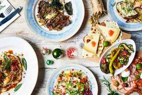 Jamie Oliver Restaurant Group - Three course festive meal & bubbly for 2 - Save 21%