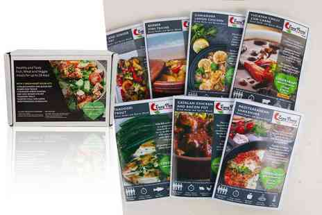 Easy Peasy Cooking - Collection of seven Green Heart recipe kits, with herbs, spices and seasonings included - Save 50%