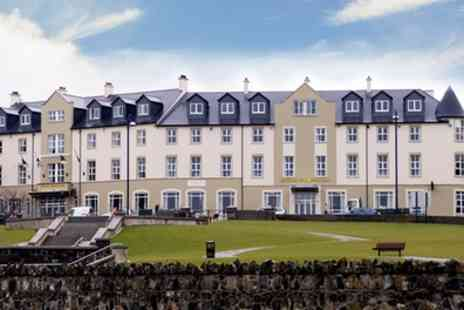 Portrush Atlantic Hotel - One or Two Nights Stay for Two - Save 0%