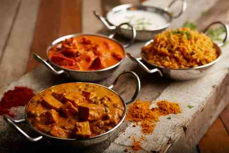Spicy Tadka - Two Course Indian Meal with Rice or Naan and Prosecco for Two or Four - Save 48%
