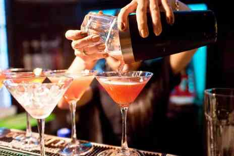 The Lodge Aintree - Four cocktails for two people to share - Save 60%