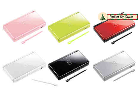 Ezy Gadgets - Nintendo DS Lite portable gaming console choose from six colours - Save 48%
