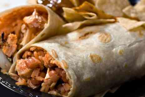 Bonnie Burrito - Two, Three or Five Regular Burritos for Takeaway - Save 30%