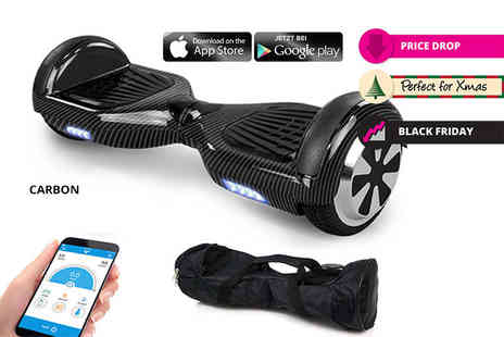 EveMotion GmbH - Hoverboard with carry case choose from nine colours - Save 60%