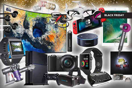 HCI Distribution - Black friday mystery deal from Samsung, Dyson, Sony, PS4, Veho, Apple, FitBit and more - Save 0%
