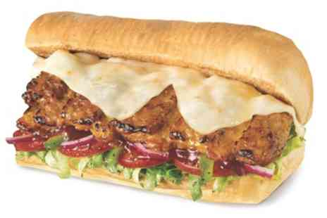 Subway - One or Two 12 inch or 6 inch Subs with Drinks, Cookies or Crisps, or Platter - Save 53%