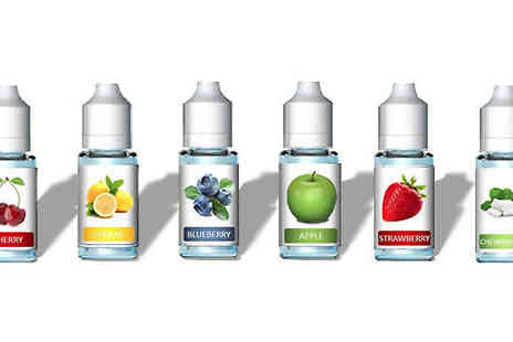 Playtech - 5, 10, or 20 Pack of Assorted Flavoured 10ml E Liquids - Save 0%