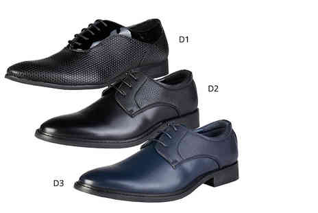 IDT Spa - Pair of mens detailed Duca Di Morrone brogues - Save 56%