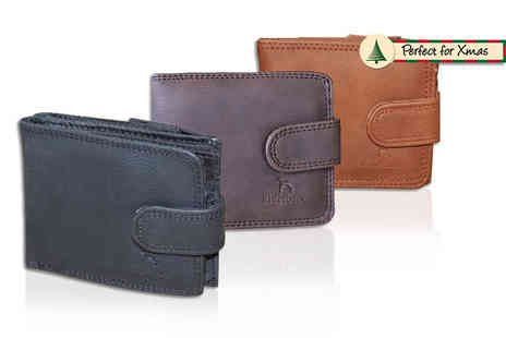Pearl Info - Elegant mens wallet choose from three colours - Save 85%