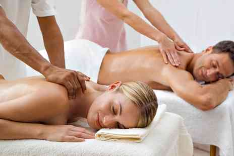 The Beauty Rooms - Candlelit Couples Massage with an Infrared Sauna Session and a 5ml Bottle of Essential Oil - Save 0%