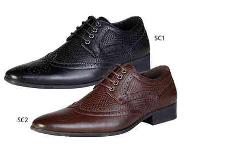 IDT Spa - Pair of mens derby brogues choose from Duca Di Morrone Scott or Smith designs - Save 0%