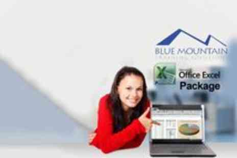 Blue Mountain Training Solutions - Microsoft Excel Master Package Online Course - Save 91%
