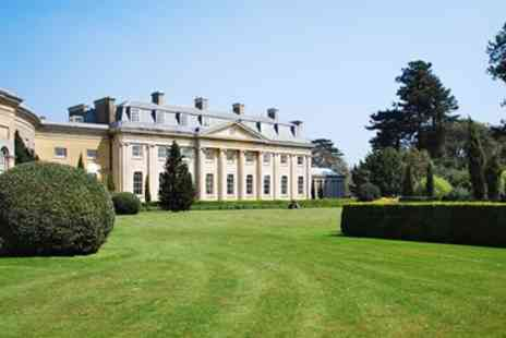 The Ickworth - Suffolk Georgian mansion stay with meals - Save 0%