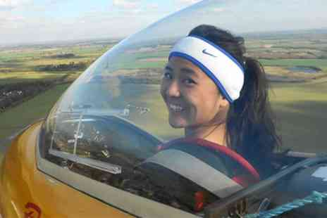 Bicester Gliding Centre - Two or Three Winch Gliding Lessons with Three Month Membership - Save 80%