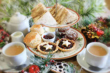 Whilton Locks Garden Village - Festive afternoon tea for two - Save 36%