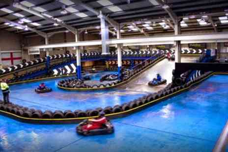 The Full Throttle Raceway - 25 or 50 Lap Go Karting Experience for Up to Four - Save 0%