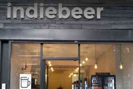 Indie Beer - Craft Beer Tasting Session with Snacks and Optional Gift Pack for Up to Four - Save 29%