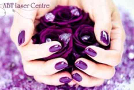 ABT Laser Centre - Shellac Manicure and Pedicure - Save 63%