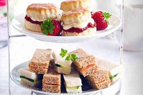 Red Letter Days - Afternoon tea for two with a relaxed cookery demonstration - Save 0%