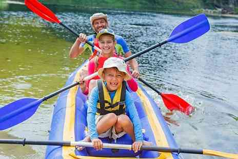 Big Crazy - Kayak session for one, two or family of four - Save 50%