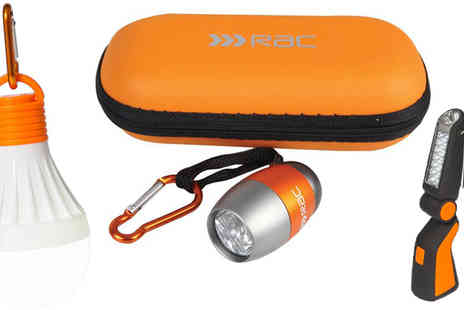 AMS Global - Set of Three RAC LED Torches - Save 0%