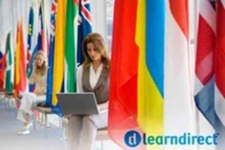 Learndirect - Beginner 12 Month Online Language Course With Choice of Over 50 Languages - Save 60%