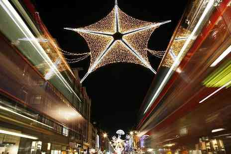 Premium Tours - Childs or adult ticket to a Christmas lights London bus tour - Save 50%